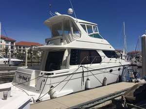 Used Carver 45 Voyager Pilothouse Boat For Sale
