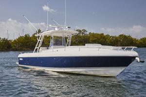Used Intrepid 370 Cuddy Repowered 300hp Yamaha 2016 Cuddy Cabin Boat For Sale