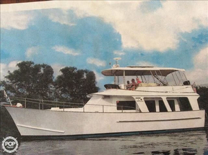 Used Hardin 41 Trawler Boat For Sale