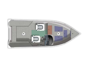 Used Crestliner 16 Kodiak SC Freshwater Fishing Boat For Sale