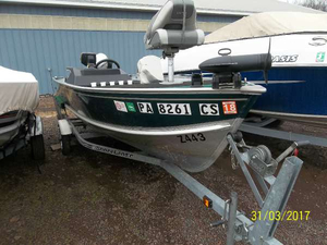Used Lund ADVENTURE 1600 Aft Cabin Boat For Sale