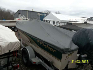 Used Fisher 17 Pro Avenger SC Freshwater Fishing Boat For Sale
