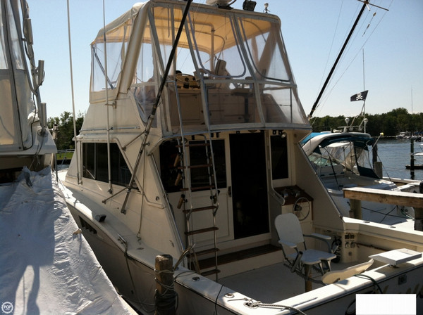 Used Chris-Craft 420 Tournament Fisherman Sports Fishing Boat For Sale