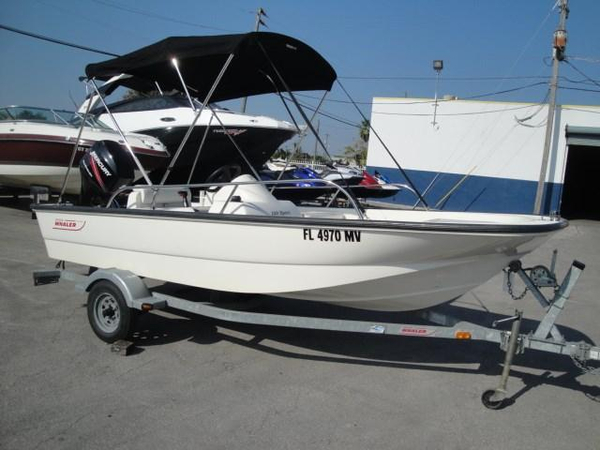 Used Boston Whaler 150 Sport Runabout Boat For Sale