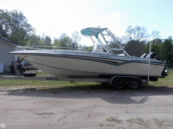 Used Fountain 27 Center Console Fishing Boat For Sale