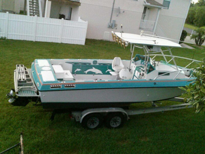 Used Penn Yan 240 Sharp Walkaround Fishing Boat For Sale