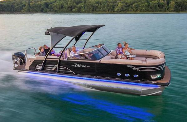 New Tahoe Pontoon Vision Windshield Pontoon Boat For Sale