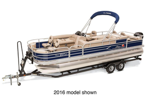 New Sun Tracker Fishin' Barge 24 DLX Pontoon Boat For Sale