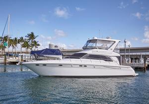 Used Searay Sedan Bridge Motor Yacht For Sale