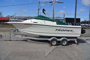 Used Trophy 2002 Walkaround Cuddy Cabin Boat For Sale