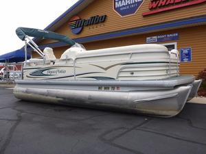 Used Aqua Patio 200 RE Pontoon Boat For Sale