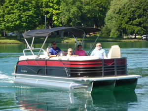 New Misty Harbor Boats Skye 2385SU Tri-toon Pontoon Boat For Sale