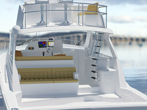New Hatteras 45 Express Cruiser Boat For Sale