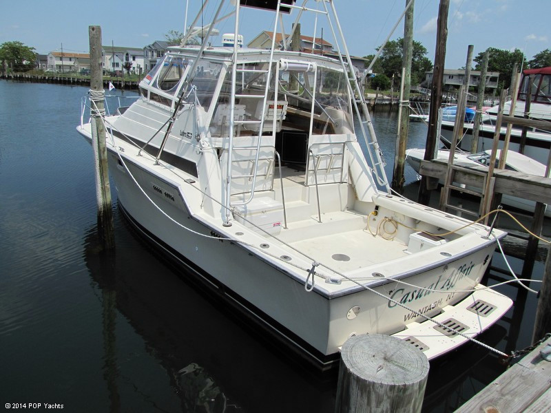 1987 used luhrs 340 sports fishing boat for sale 17 500 for Freeport fishing boats