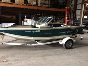 Used Smoker Craft 160 Stinger Sports Fishing Boat For Sale