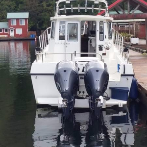 Used Osprey 28 Long Cabin Pilothouse Boat For Sale