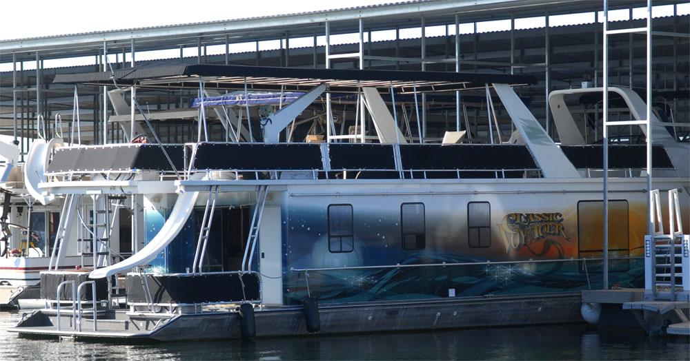 Used Stardust Cruisers Multi Owner Houseboat House Boat For - Houseboats vinyl names