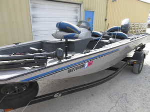 Used G3 Eagle 175 PF Aluminum Fishing Boat For Sale