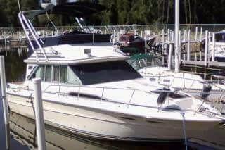 Used Sea Ray 340 Sedan Bridge Sports Fishing Boat For Sale