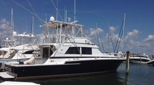 Used Bertram 54 Convertible Fishing Boat For Sale