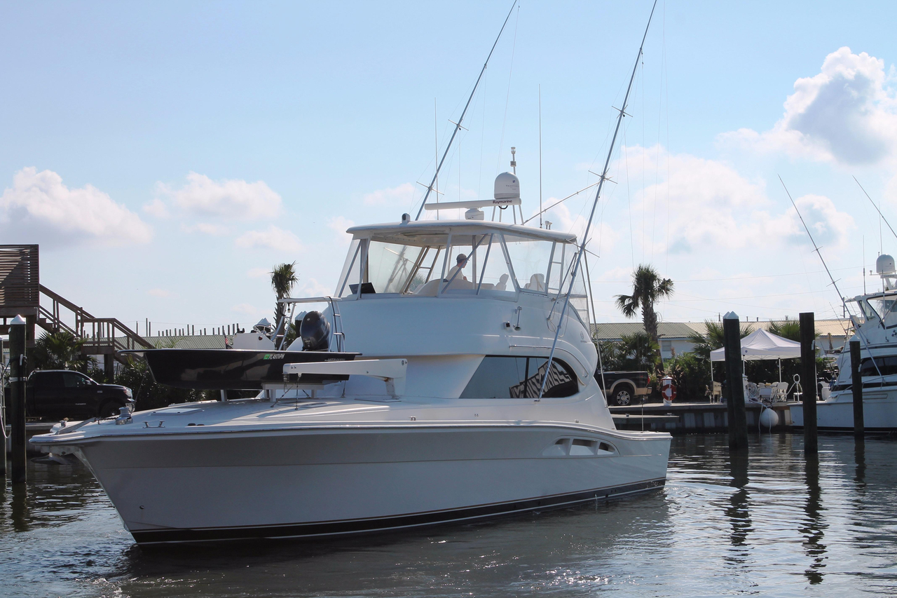2005 used riviera 51 open flybridge series sports fishing for Sport fishing boats for sale