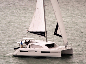 Used Leopard 40 Catamaran Sailboat For Sale