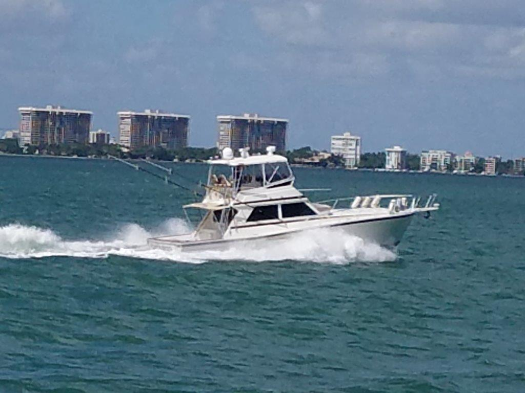 1989 used viking 48 convertible fishing boat for sale for Used fishing boats for sale in florida