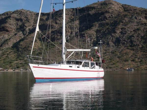 Used Custom Crescent 40 Cutter Sailboat For Sale