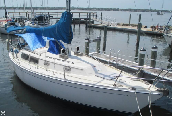 Used Cal 31 Sloop Sailboat For Sale