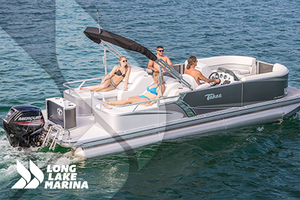 New Tahoe Pontoon LTZ Rear lounge Pontoon Boat For Sale