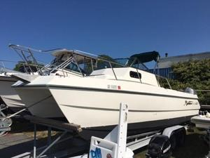 Used Sea Cat 25' SL5C Center Console Fishing Boat For Sale