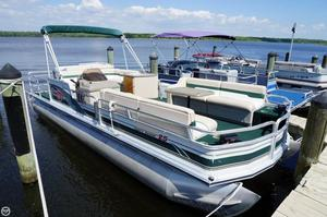 Used Sun Tracker Party Barge 25 Signature Series Pontoon Boat For Sale