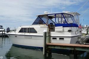 Used Hatteras 38 Tri Cabin Aft Cabin Boat For Sale