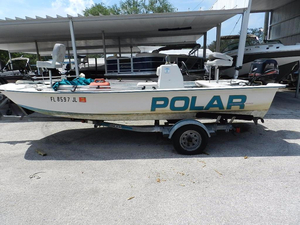 Used Polar Kraft Saltwater Series Saltwater Fishing Boat For Sale