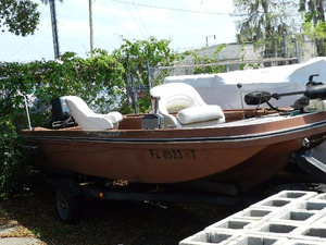 Used Eldocraft Freshwater Fishing Boat For Sale