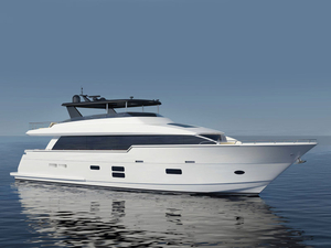 New Hatteras 90 Flybridge Boat For Sale