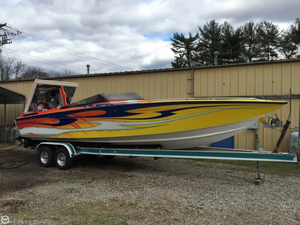 Used Velocity 30 High Performance Boat For Sale