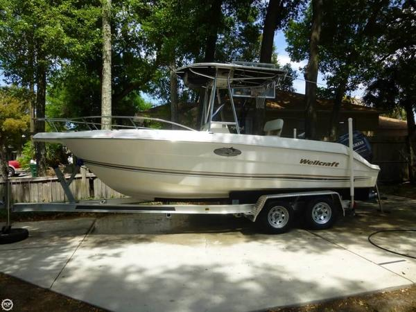 Used Wellcraft 210 Open Fisherman Center Console Fishing Boat For Sale
