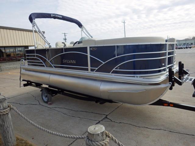 2017 new sylvan 820 mirage cruise n fish pontoon boat for for Sylvan fishing boats