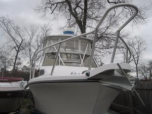 Used Shamrock 26 Express Fish Pilothouse Boat For Sale