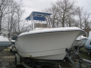 Used Polar 21CC Center Console Fishing Boat For Sale