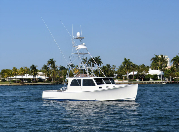 Used Wesmac 46 Sportfish Downeast Fishing Boat For Sale