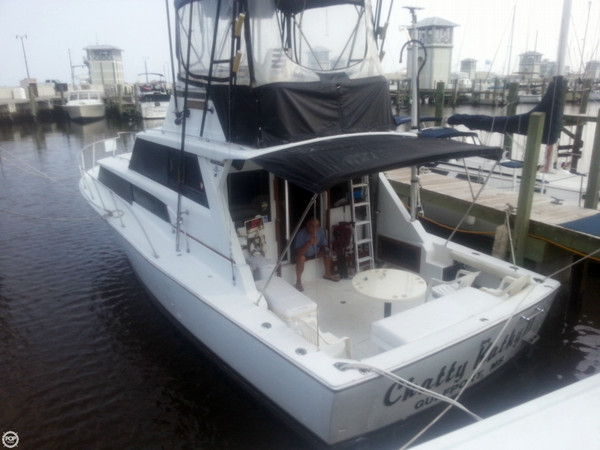 Used Bertram 38 Sport Fish Sports Fishing Boat For Sale