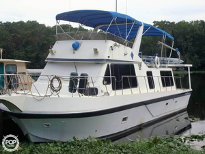 Used Bluewater 45 Trawler Boat For Sale