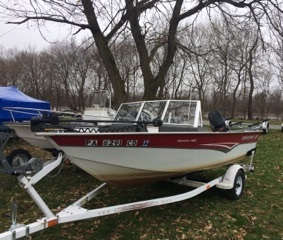 Used Starcraft 160 Sports Fishing Boat For Sale