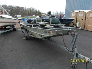 Used Tracker 16 Sportsman Bass Boat For Sale