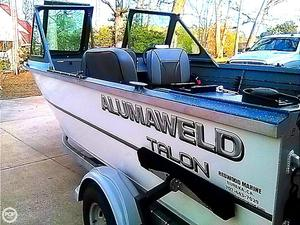 Used Alumaweld Talon Aluminum Fishing Boat For Sale