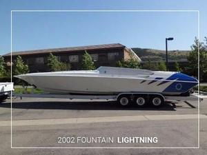 Used Fountain Lightning Express Cruiser Boat For Sale