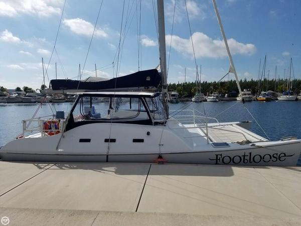 Used Searunner 40 Catamaran Sailboat For Sale