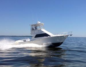 Used Cabo Yachts 35 Flybridge Convertible Fishing Boat For Sale